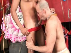 Party Ends Up With Latino Gay Sex
