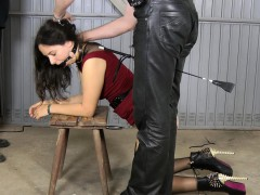 Spanked In The Garage