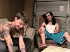 Straight Buddies Deving And Blinx Jerk Off After Strip Poker