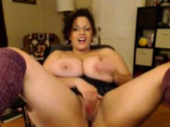 Bbw Amateur With Huge Boobs Has Sex With A Skinny Guy