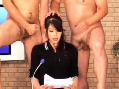 Bukkake Facial Cumshot Sperm Eating Porn Video