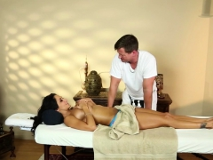 Busty massaged milf spunk