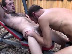 Gay Stud Rides Bareback