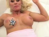 Busty blonde MILF Dyana Hot gets banged in pov style