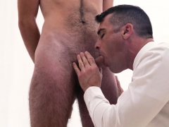 Handsome Older Priest Fucks Tall Hairy Boy In The Temple