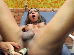 Bruna Castro Jerks Her Cock For You