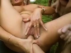 extreme german garden party