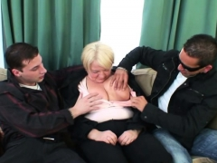 boozed-granny-is-picked-up-by-two-fellows