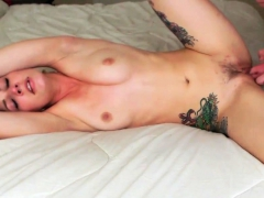 Hottest Amateur Mature Brunette Tied Up And Fucked On Webcam