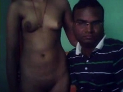 desi couple having a session on webcam