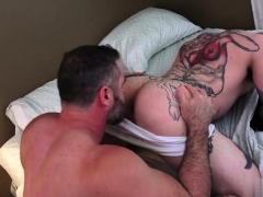 Tattoo Gay Ass To Mouth And Creampie
