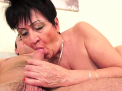Grannies Old Pussy Jizzed