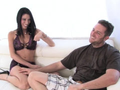 Sex On White Couch With Johnny Nitro