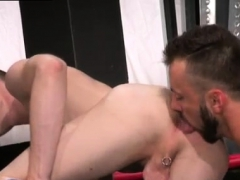 Small Boy Alone Gay Porn Aiden Woods Is On His Back And