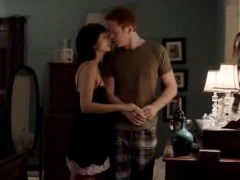 morena baccarin nice tits and ass in sex scenes
