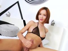 asian-ladyboy-shoots-load