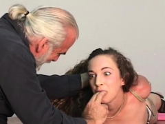 Woman Endures Thraldom Sex At Home In Non-professional Clip