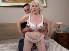 grandmas-face-spunked-on