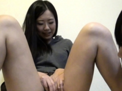 Asian Les Strokes Pussy