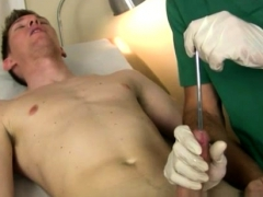 Blonde Guy Have Gay Sex After Having Him Get Bare And