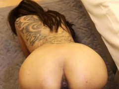 Beautiful chick riding monster dick