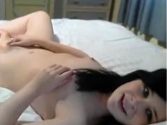 masturbating-young-brunette