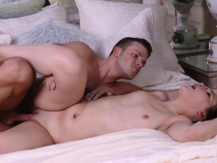 Gingerpatch - Curvy Ginger Teen Gets Plowed