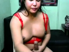 Ebony Amateur Tranny Ass Fucking Asian Shemale With Toy