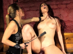 submissive lesbian redhead dildoed by femdom – Free XXX Lesbian Iphone