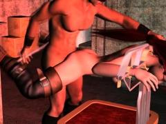 Lara Gets Banged In Dungeon 3d Bdsm