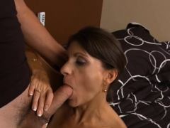 Shlong Loving Mom Gets Her Aperture Rammed And Creampied