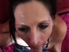 Horny Girl Blows A Hairy Dick