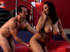 He Bangs A Thick Stripper With Huge Tits
