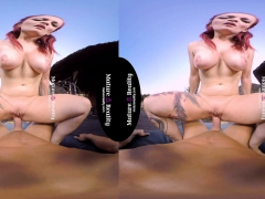 MatureReality - Redhead Tinder Milf in Virtual Reality Sex