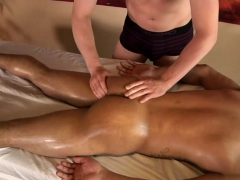 Enormous weenie gay anal sex and massage