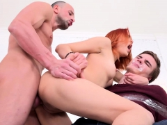 Cuckold revenge of a redhead