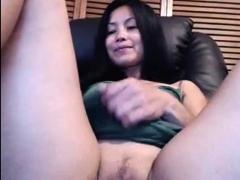 Hot Asian Milf In Sizzling Solo