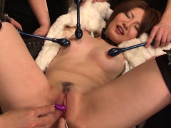 Asian Cutie Gets Her Pussy And Ass Pleasured With Toys