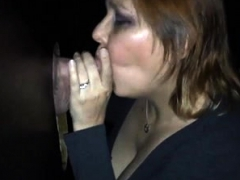 Facialized Blowjob Amateur Glory Hole