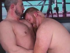 Gay straight amateur bear facialized