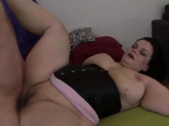 Hard Cock Pleases A Naughty Bbw