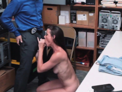 milf meets the security guards horny dick
