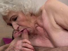Very Old Pensioner Sucks