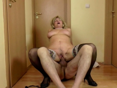 german granny seduce by younger dude after shower on floor granny sex movies