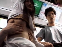 wicked hottie spreads her legs and flashes panties in public PornBookPro