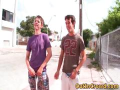 Hot Straight Hunks Get Outed In Public Part3