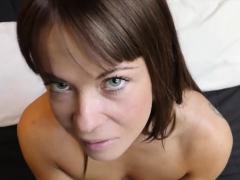 HUNT4K. Slut rides stranger's phallus while cuckold…