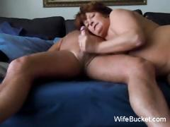 Aged Amateur Mom Loves The Cock