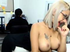 Amateur Hotass01 Flashing Boobs On Live Webcam