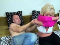 Granny Fucks With Dildo